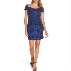 Foxiedox Betina embroidered bodycon dress